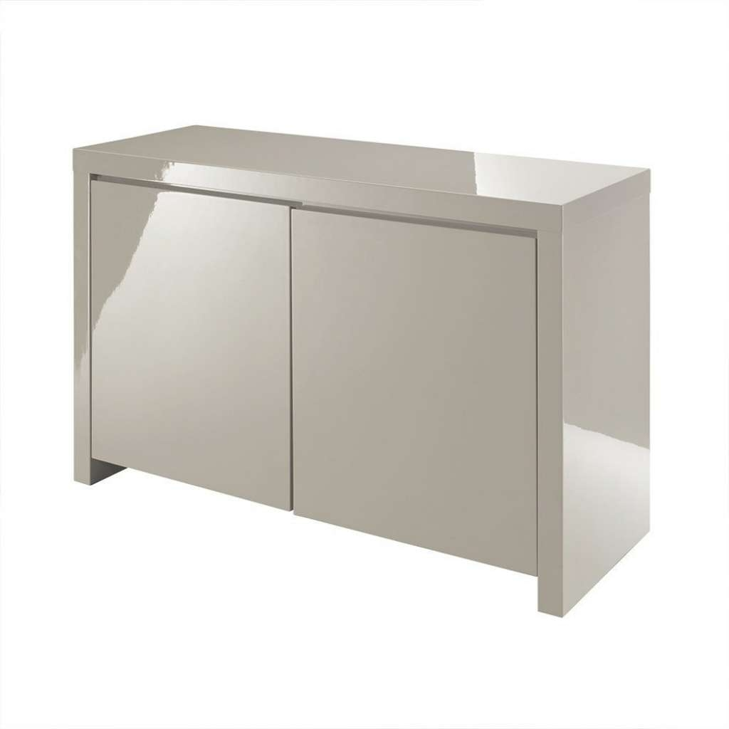 Lpd Furniture Puro Stone High Gloss Sideboard Leader Stores Within Uk Gloss Sideboards (View 8 of 20)