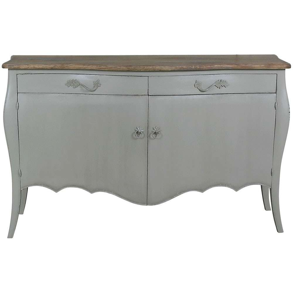 Lyon 2 Door French Sideboard | French Carved Sideboards | Shabby Pertaining To French Sideboards (View 15 of 20)