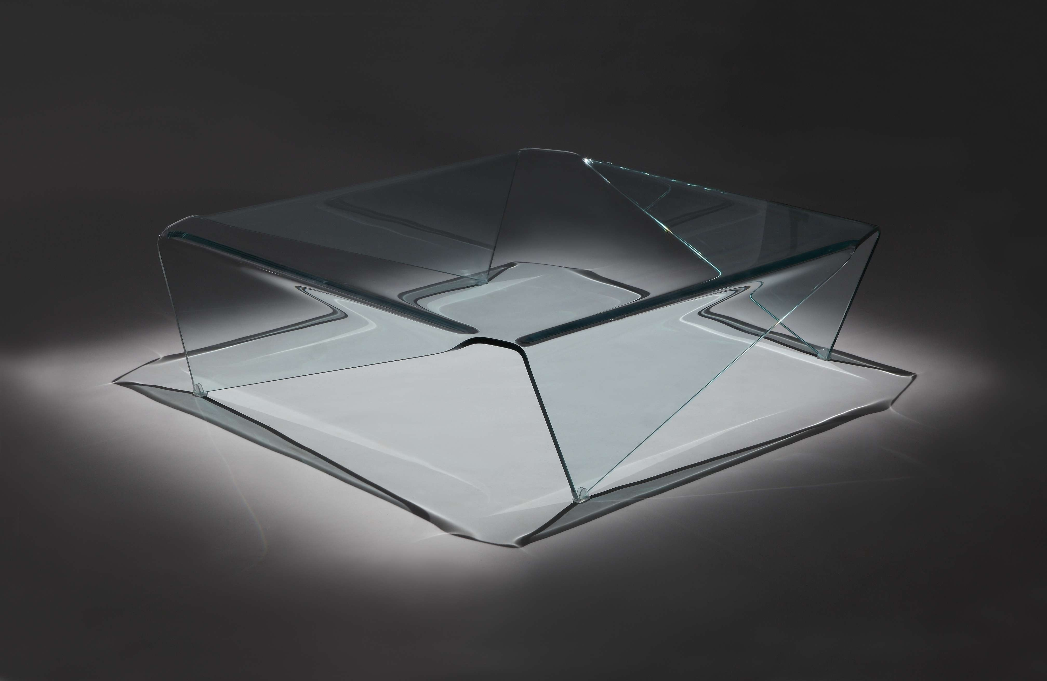 Magna Modern Coffee Table Inside Trendy All Glass Coffee Tables (View 14 of 20)