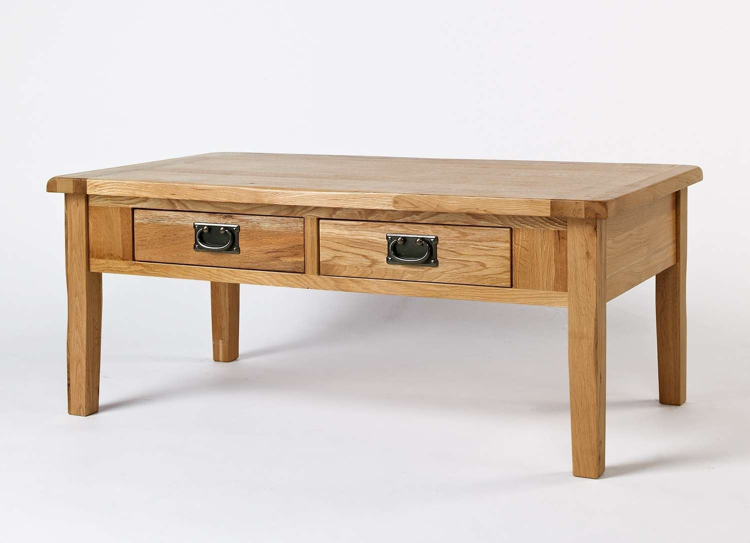 Magnificent Oak Coffee Table Home Decoration Ideas – Red Oak Intended For Well Known Low Coffee Tables With Drawers (View 15 of 20)