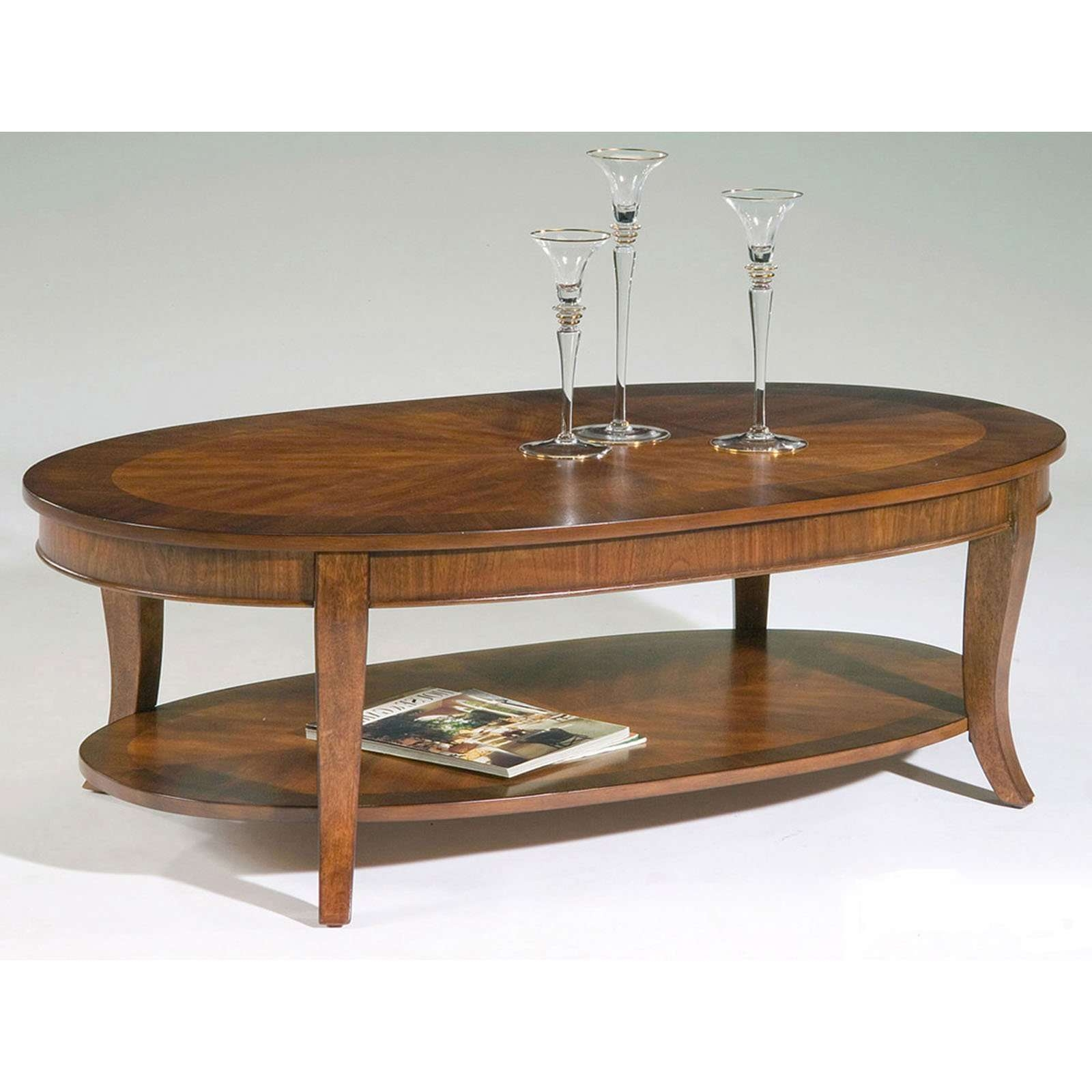 Magnussen T1052 Aidan Wood Oval Coffee Table (View 13 of 20)
