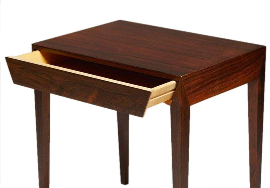 Mahogany Bedside Coffee Tableseverin Hansen For Haslev With Preferred Mahogany Coffee Tables (View 17 of 20)
