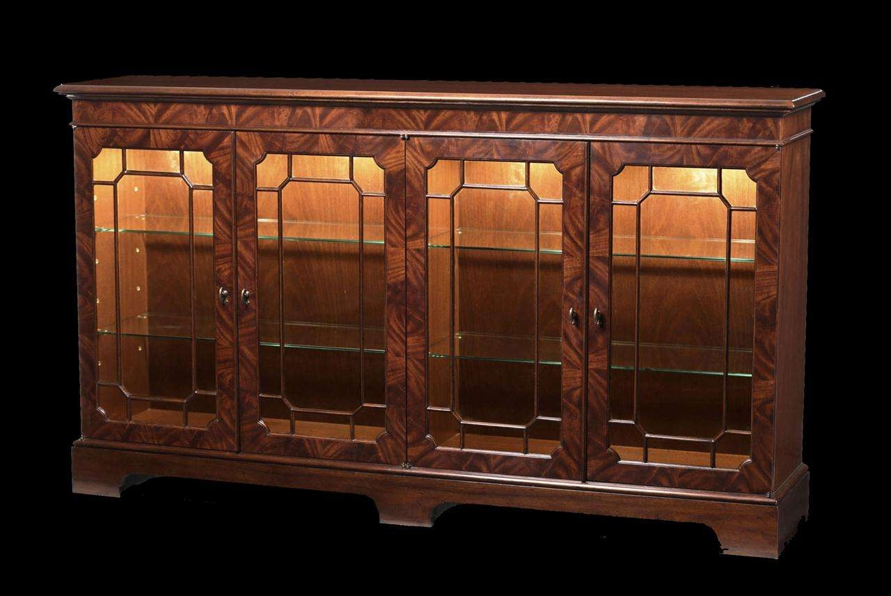 Mahogany Sideboard Display Cabinet (View 7 of 20)