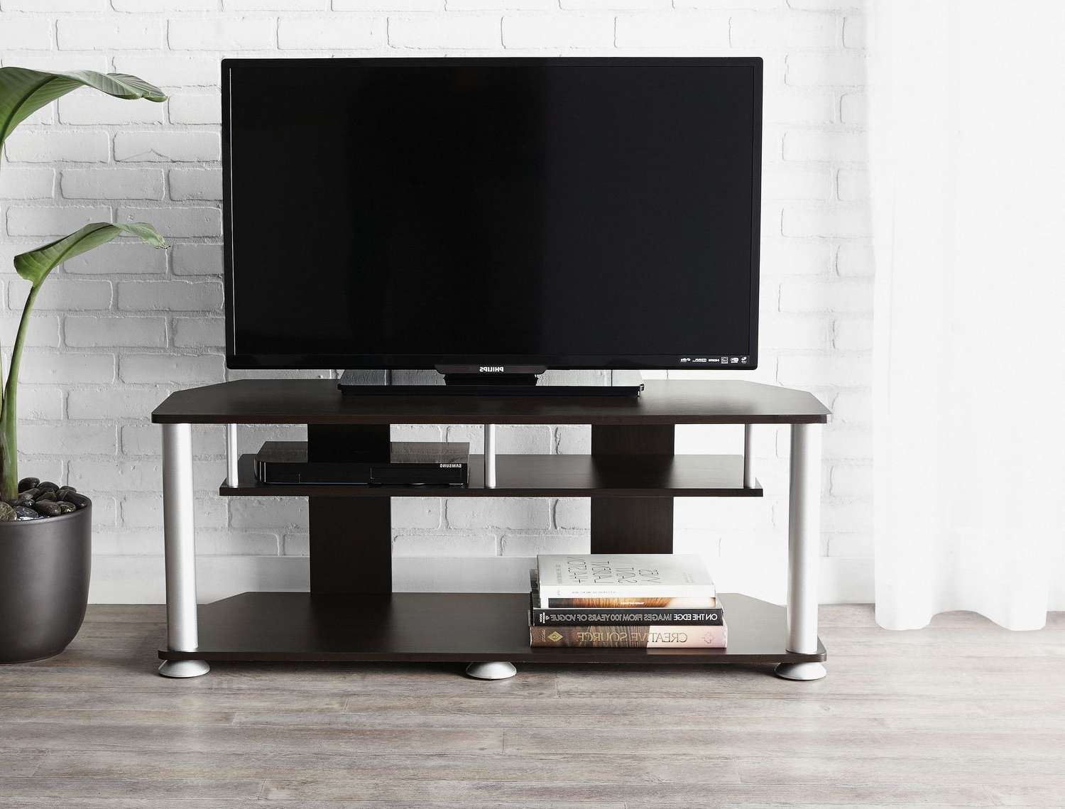 Mainstays Tv Stand | Walmart Canada Regarding Contemporary Tv Cabinets For Flat Screens (View 16 of 20)