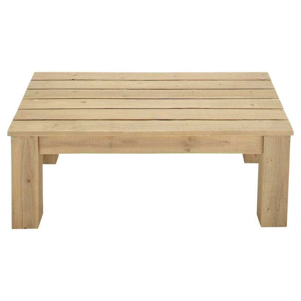 Featured Photo of Wooden Garden Coffee Tables