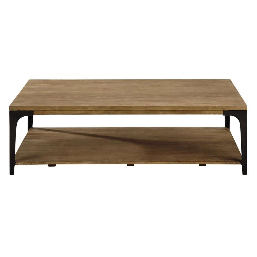 Maisons Du Monde For Latest Mango Wood Coffee Tables (View 8 of 20)