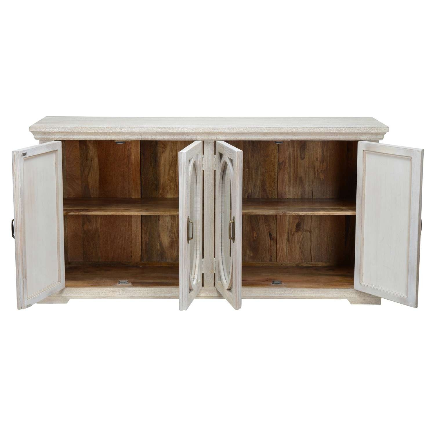 Manchester Wood Mirrored 70 Inch Sideboardkosas Home – Free For 70 Inch Sideboards (View 5 of 20)