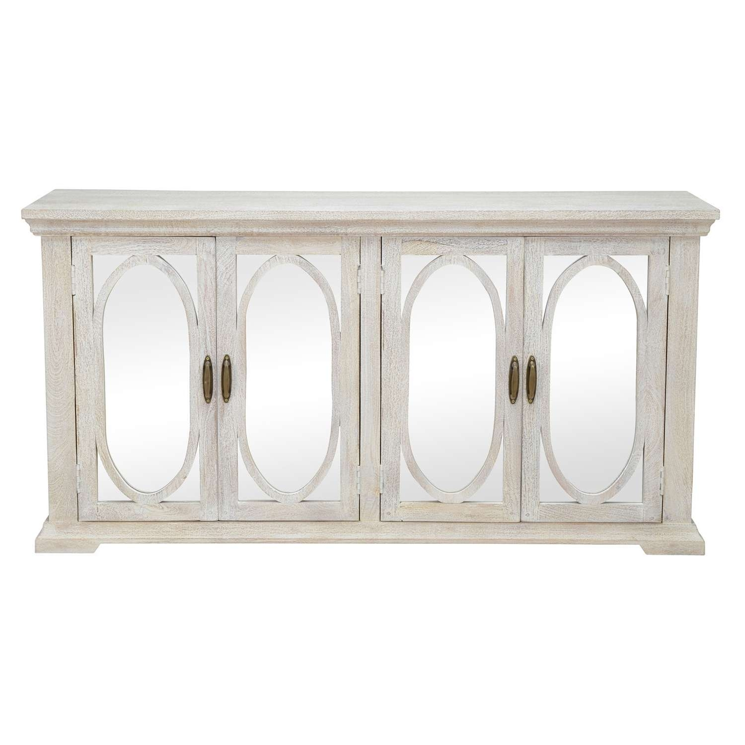 Manchester Wood Mirrored 70 Inch Sideboardkosas Home – Free With 70 Inch Sideboards (View 8 of 20)