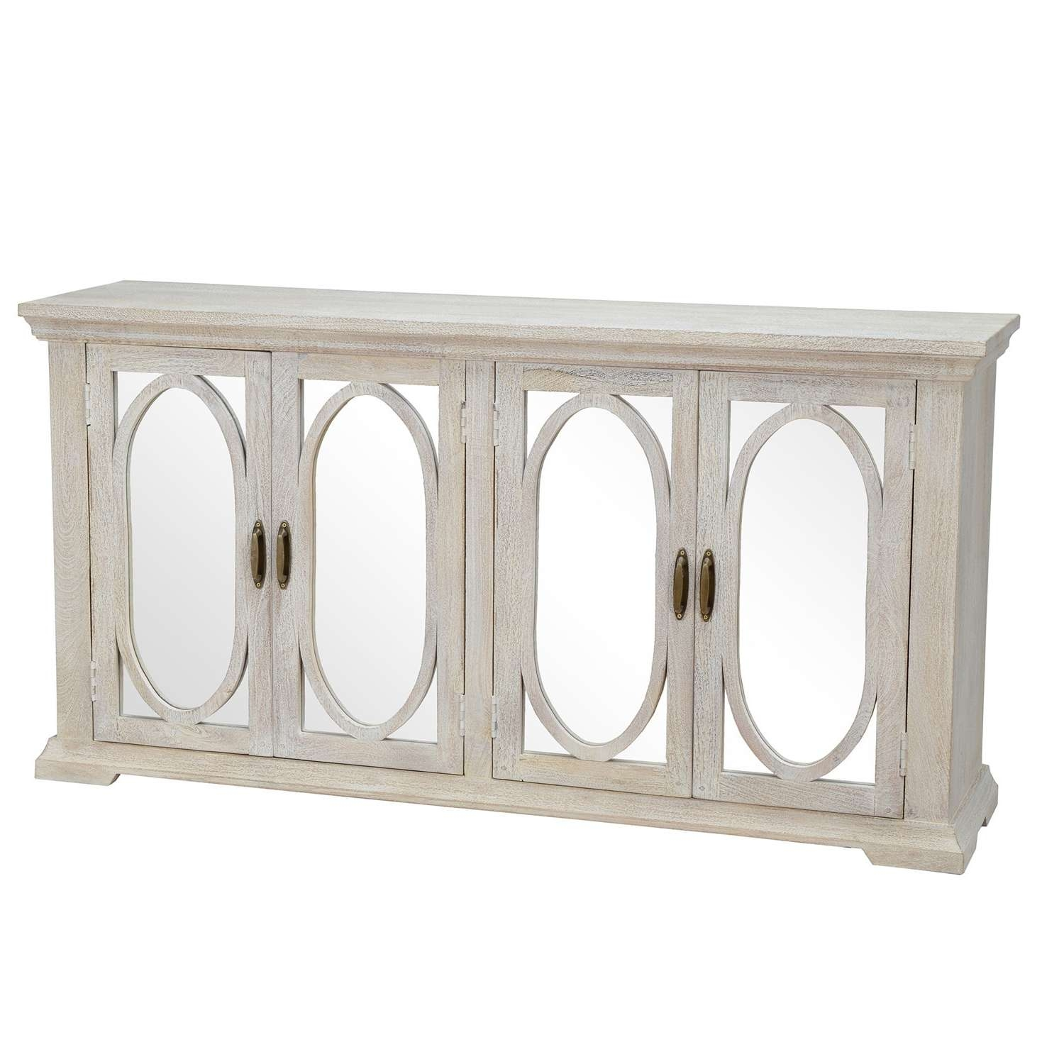 Manchester Wood Mirrored 70 Inch Sideboardkosas Home – Free Within 70 Inch Sideboards (View 12 of 20)