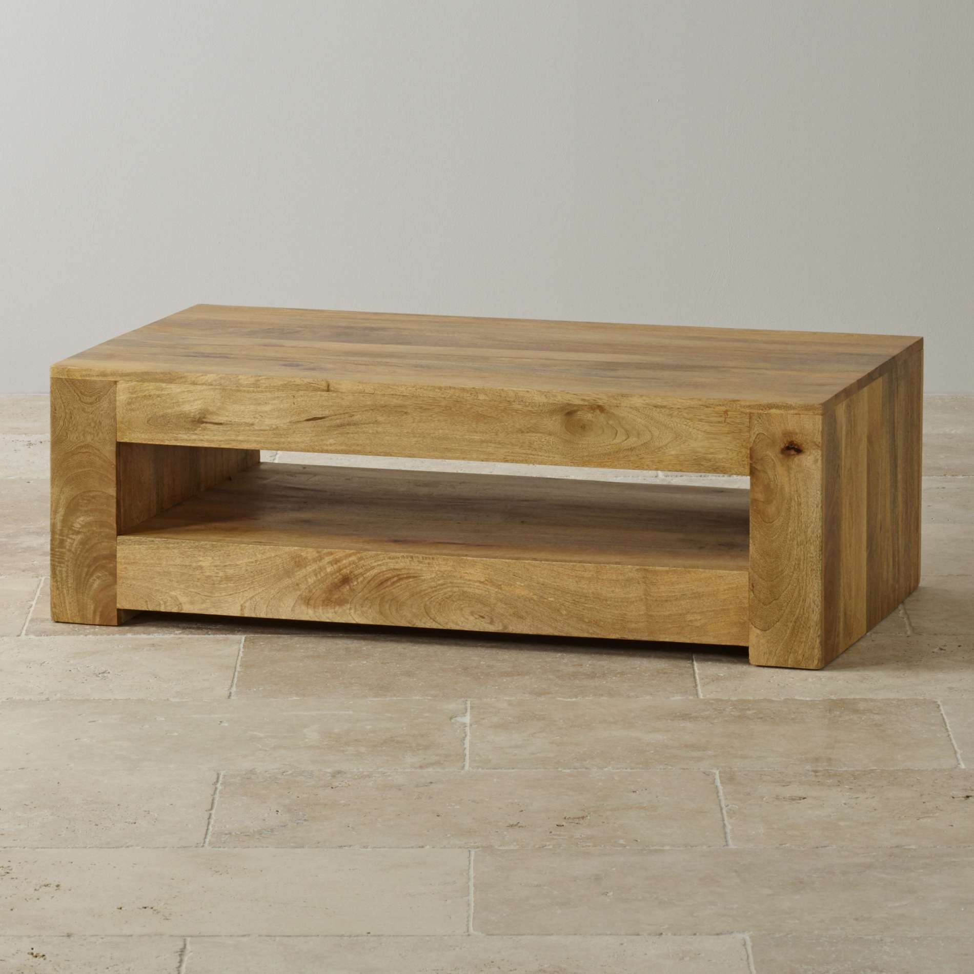 Mantis Light Coffee Table In Solid Mango (View 11 of 20)