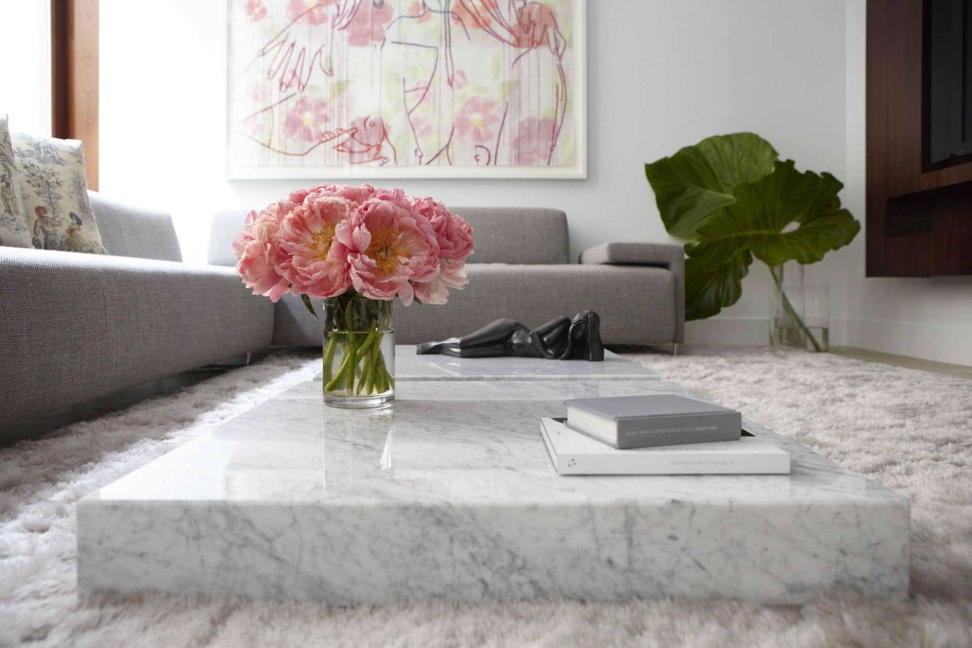 Marble Coffee Table Design, Style Ideas And Tips – Sefa Stone Inside Most Up To Date Marble Coffee Tables (View 5 of 20)
