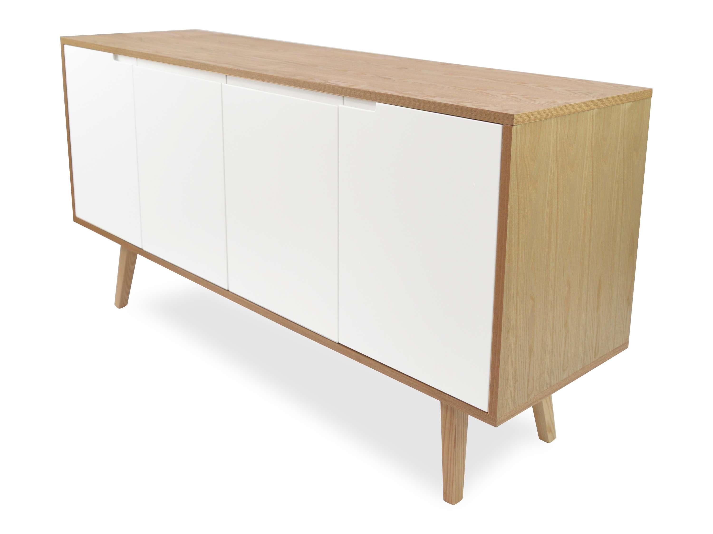 Marc Scandinavian Sideboard Buffet Unit – Natural | Interior Secrets Pertaining To Scandinavian Sideboards (View 7 of 20)