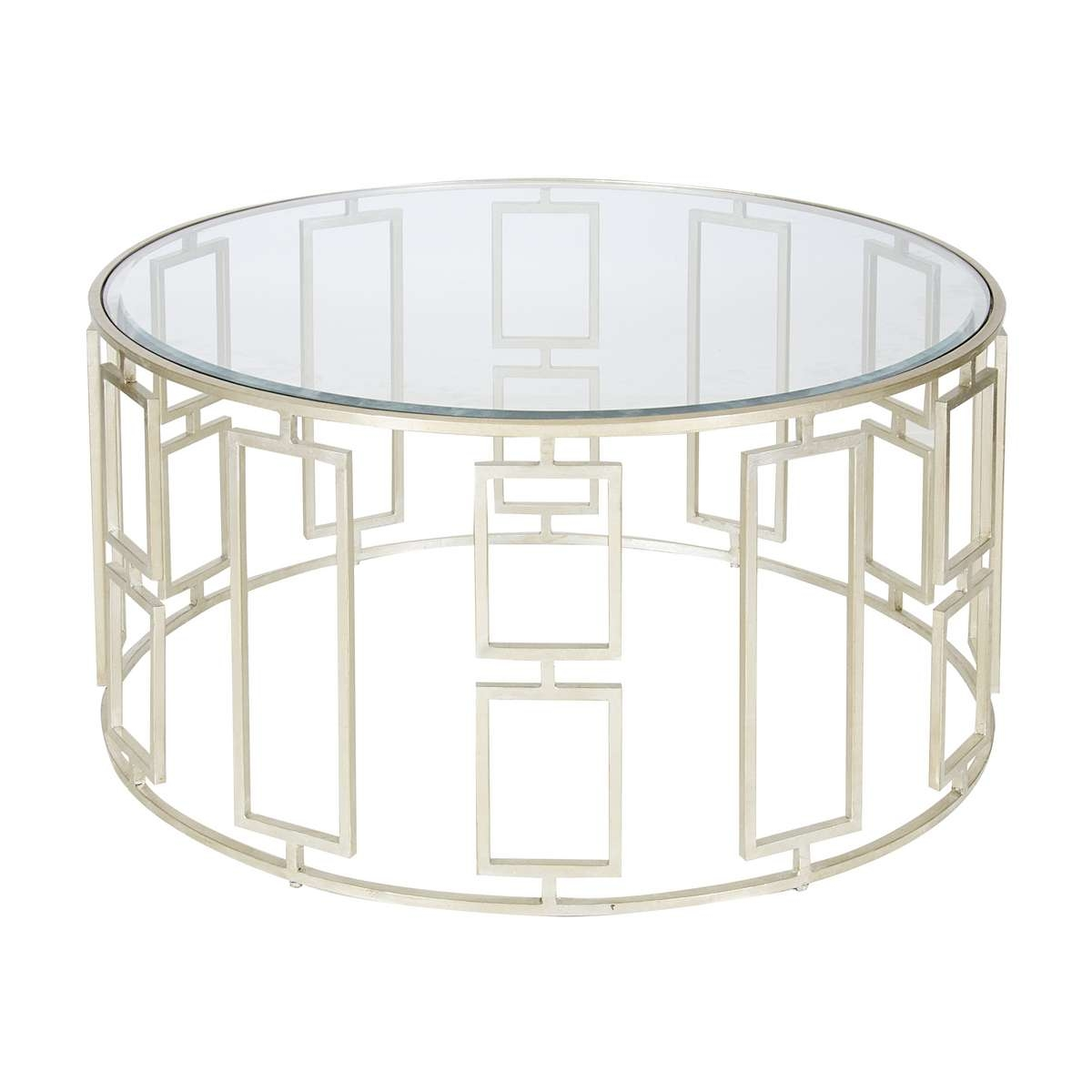 Matthew Izzo Throughout Famous Glass And Silver Coffee Tables (View 7 of 20)