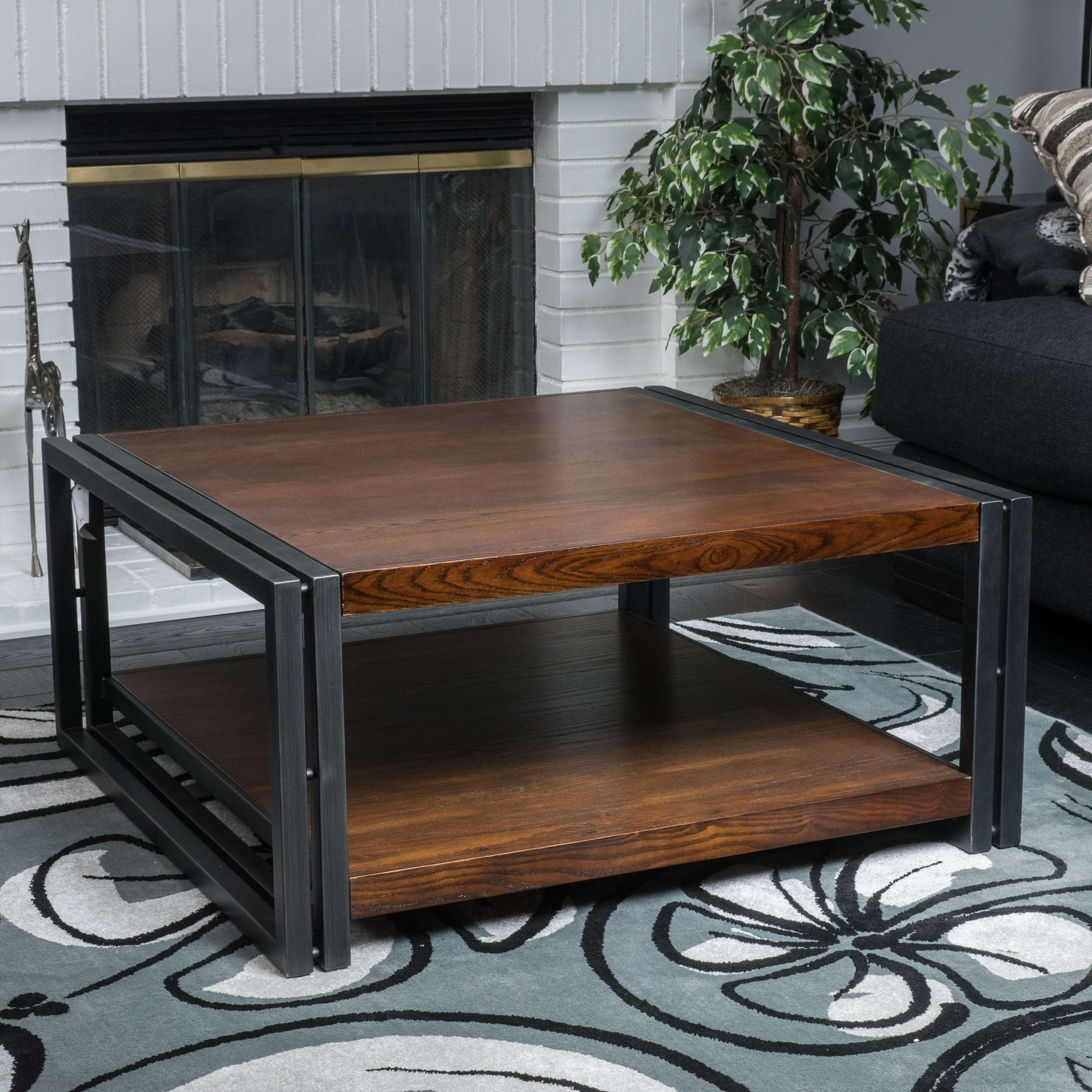 Mayfair Dark Oak Wood Coffee Tablechristopher Knight Home Within Well Known Oak Wood Coffee Tables (View 11 of 20)