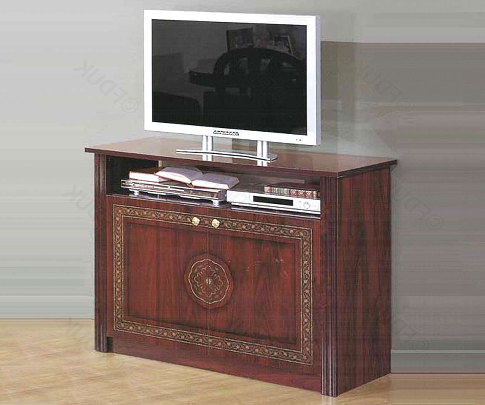 Mcs Pamela | Pamela Mahogany Tv Cabinet | Furnituredirectuk With Regard To Mahogany Tv Cabinets (View 15 of 20)