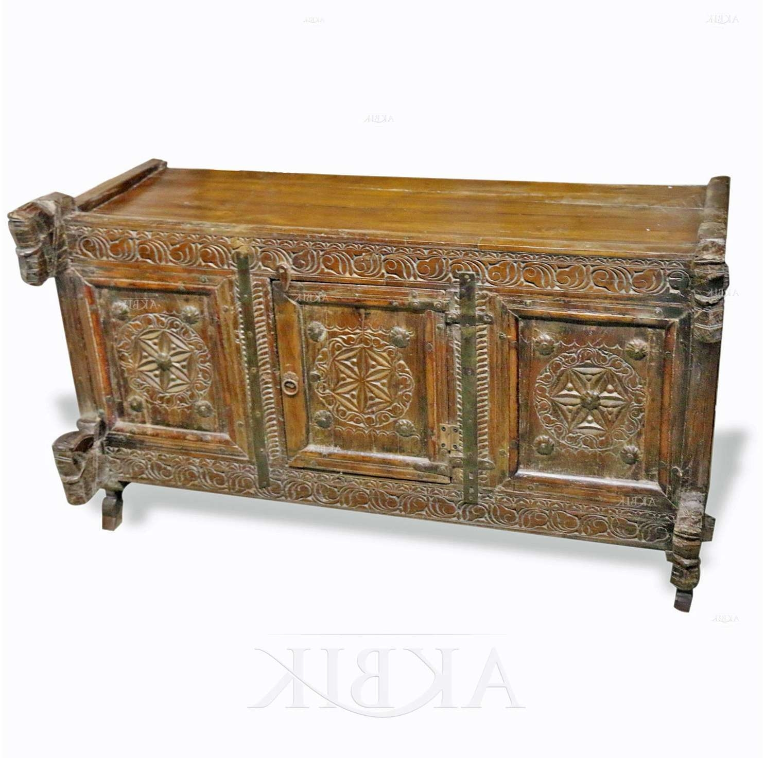 Mediterranean, Levantine & Syrian Furniture Inlaid With Mother Of For Indian Sideboards Furniture (View 6 of 20)