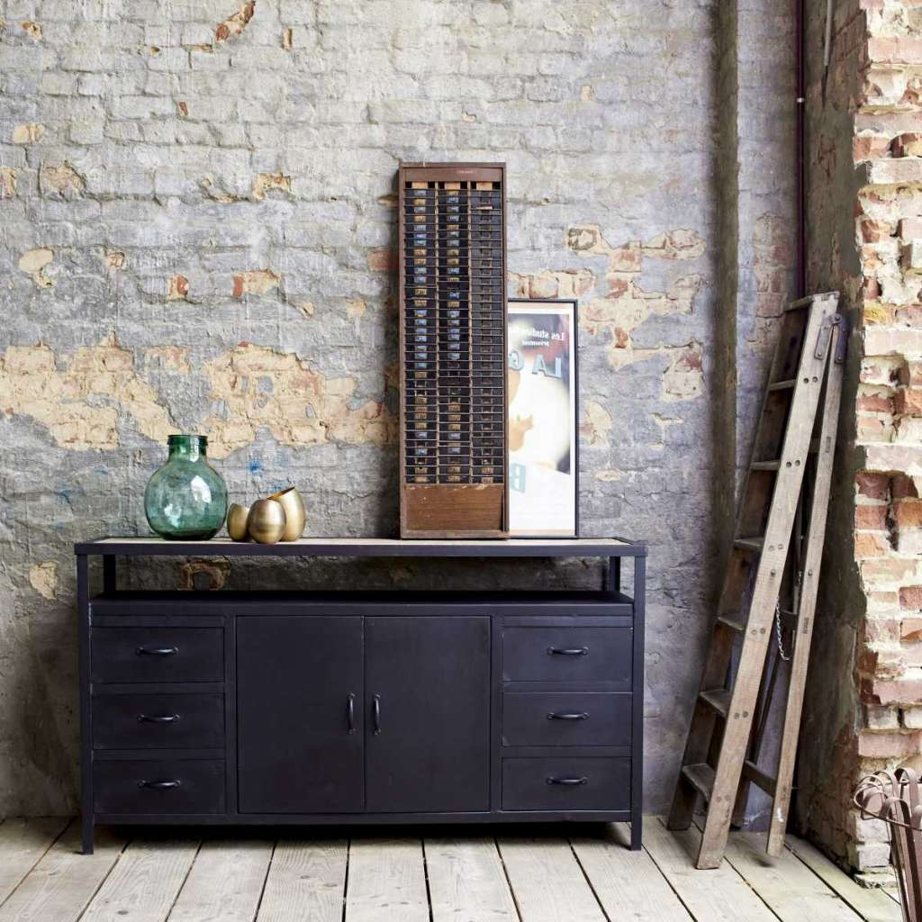 Metal Sideboards Intended For Household – The Comfortable Home For You In Metal Sideboards (View 15 of 20)