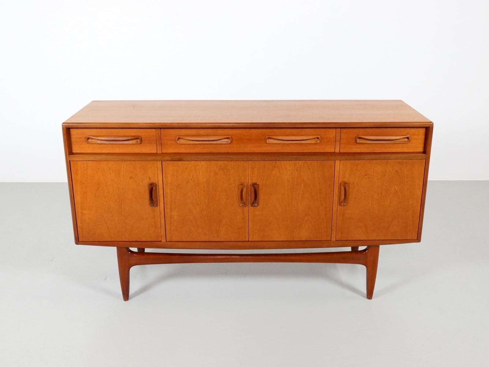 Mid Century Fresco Teak Sideboardvictor Wilkins For G Plan For Within G Plan Vintage Sideboards (View 5 of 20)