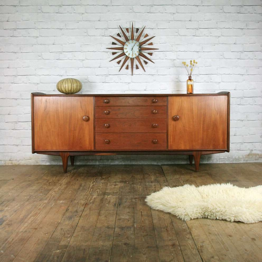 Mid Century Modern Sideboard White : Fascinating Mid Century With Regard To Mid Century Sideboards (View 9 of 20)