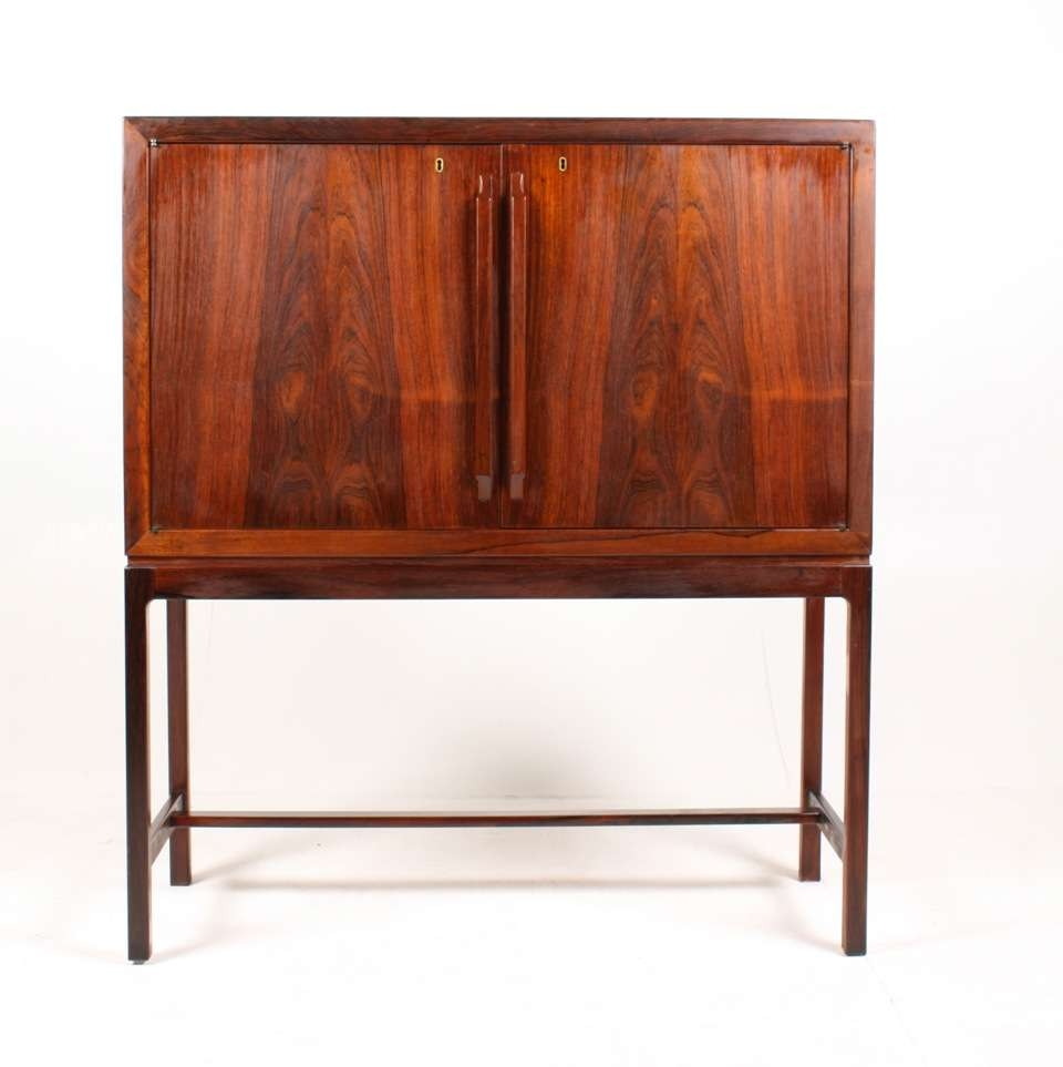 Mid Century Norwegian Dry Bar Cabinettorbjørn Afdal For With Sideboards Bar Cabinet (View 12 of 20)