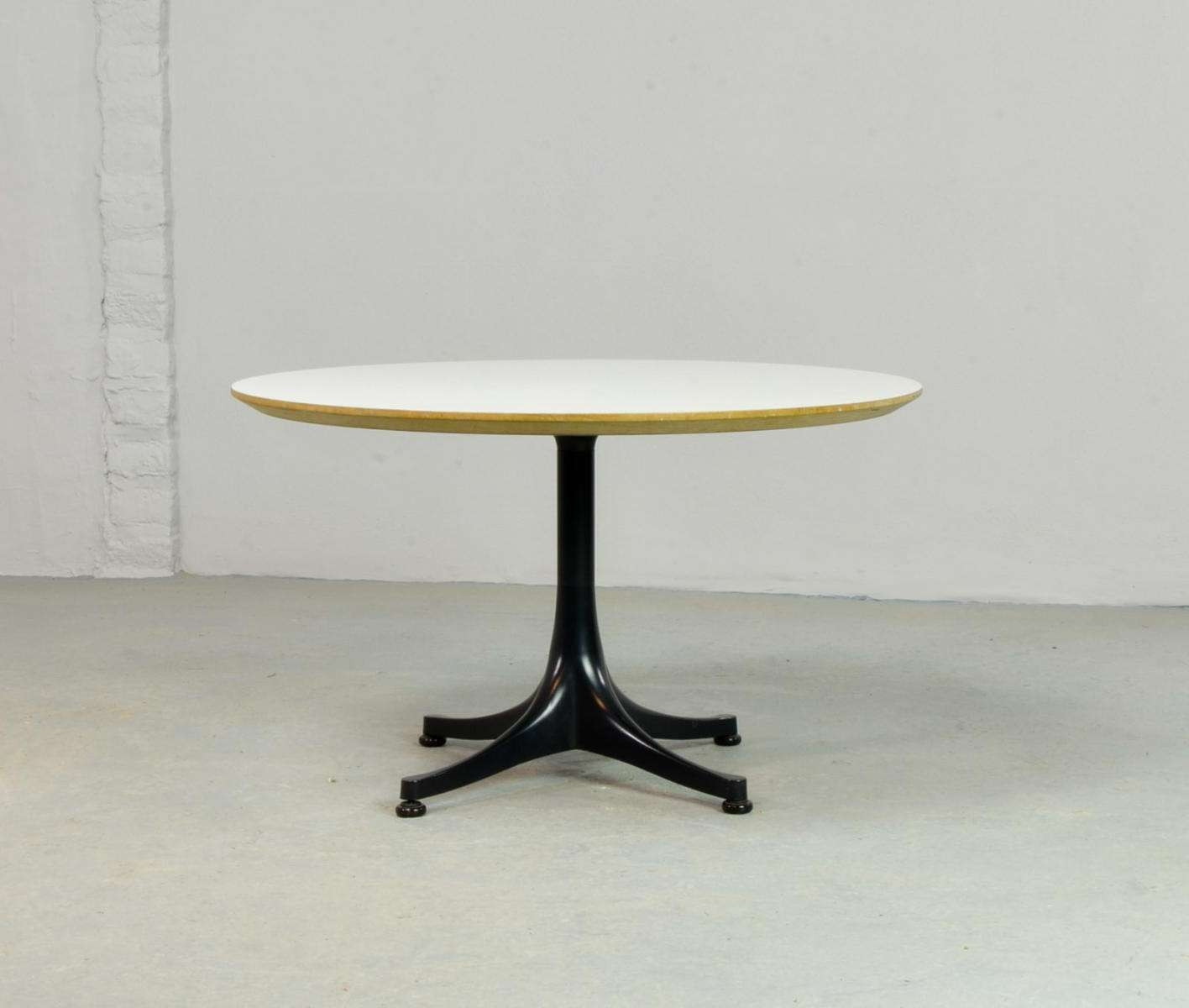 Mid Century Round Coffee Tablegeorge Nelson For Herman Miller Regarding Popular Nelson Coffee Tables (View 11 of 20)