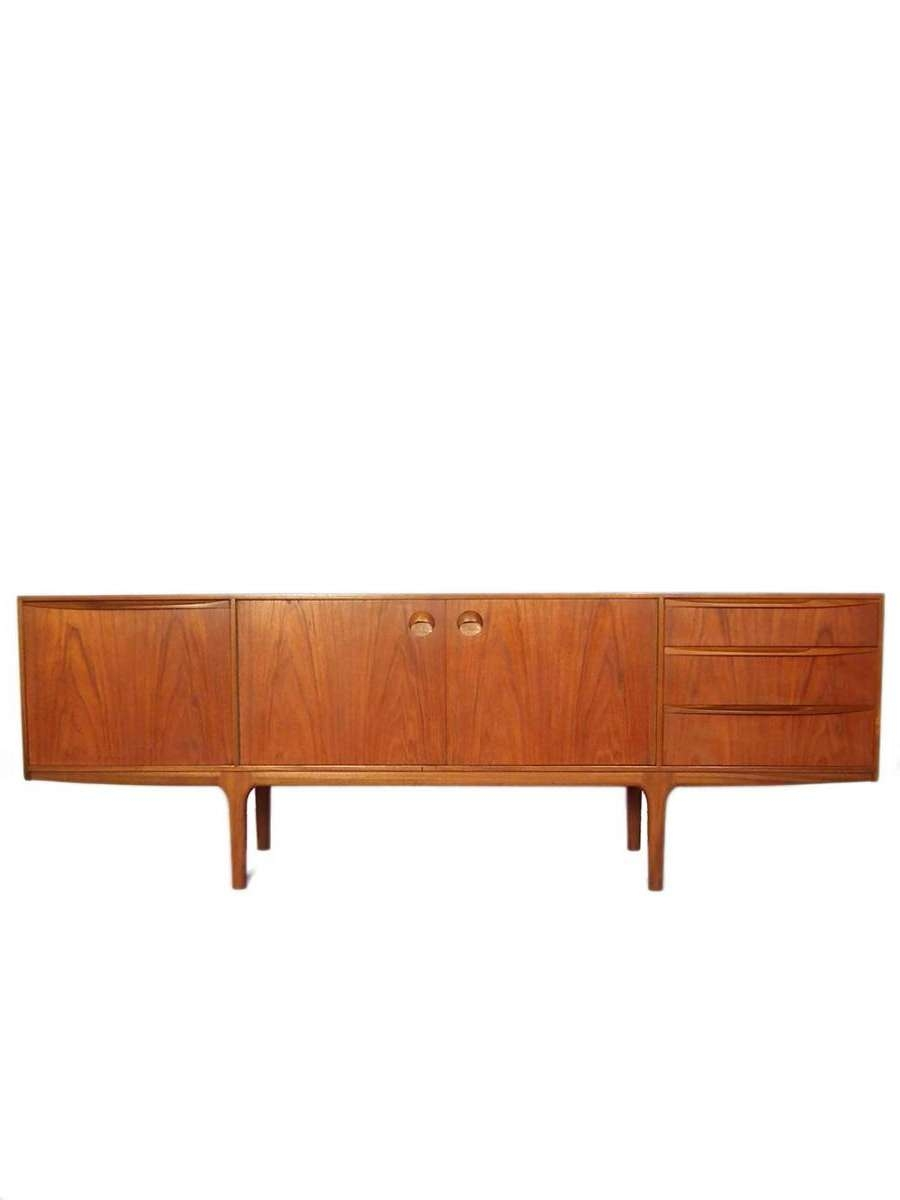 Mid Century Sideboard From Mcintosh For Sale At Pamono With Regard To Midcentury Sideboards (View 9 of 20)