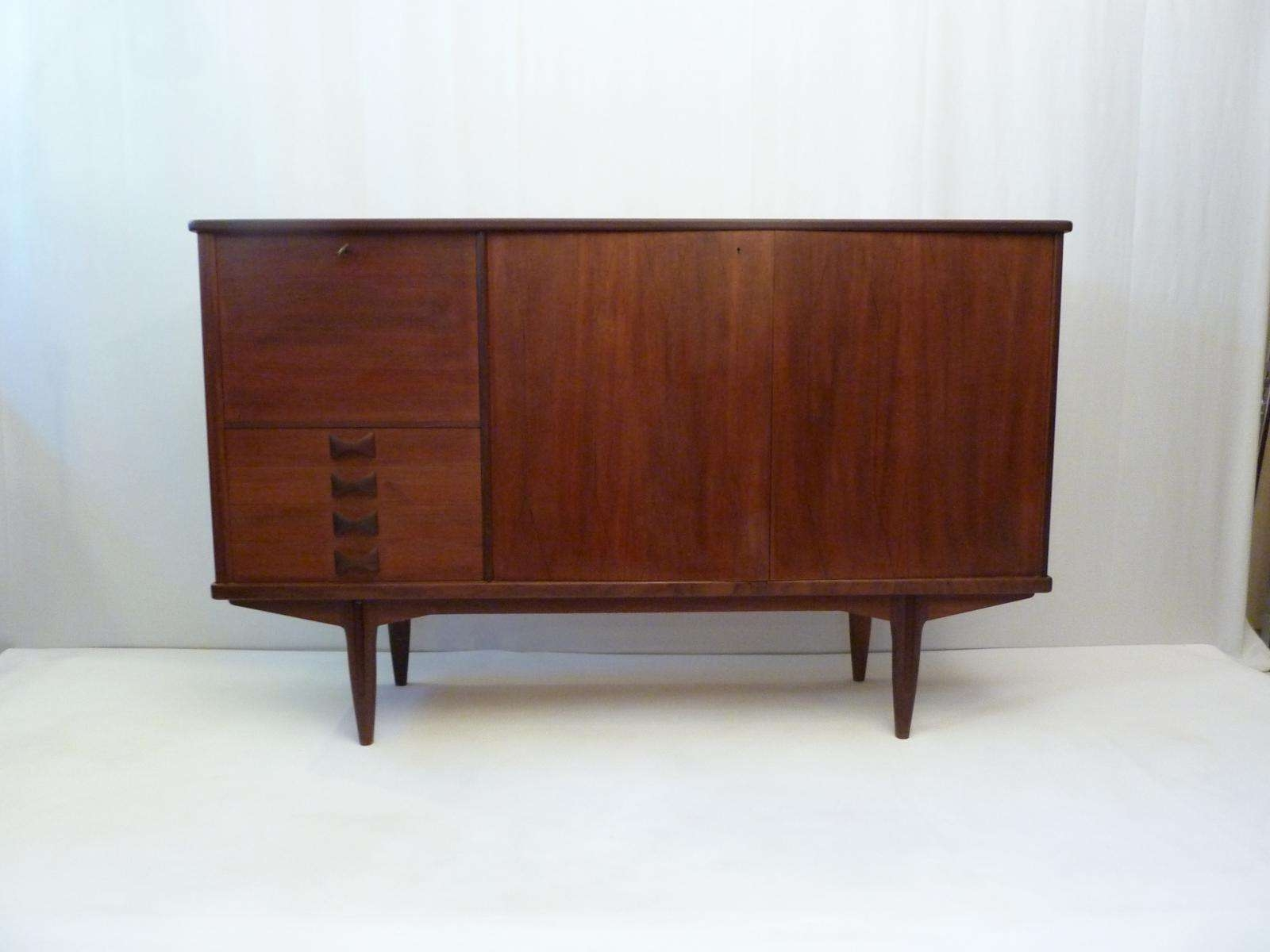 Midcentury Swedish Sideboard With Bar For Sale At Pamono With Bar Sideboards (View 1 of 20)