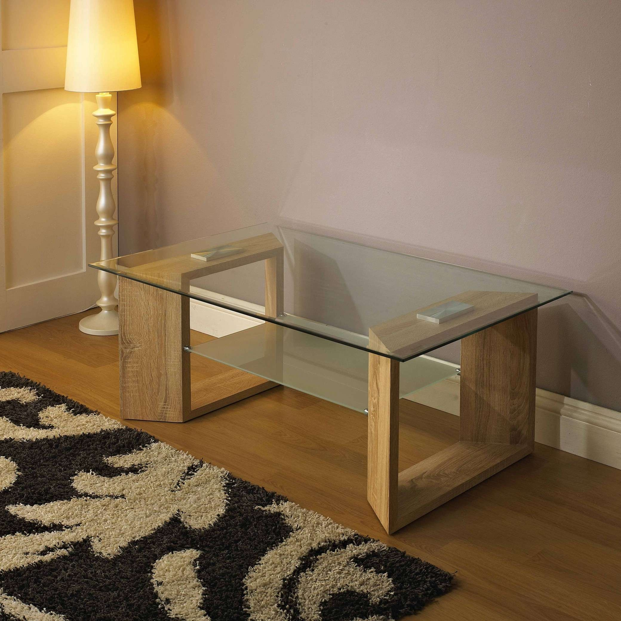 Midland Furniture Company With Favorite Glass And Oak Coffee Tables (View 14 of 20)