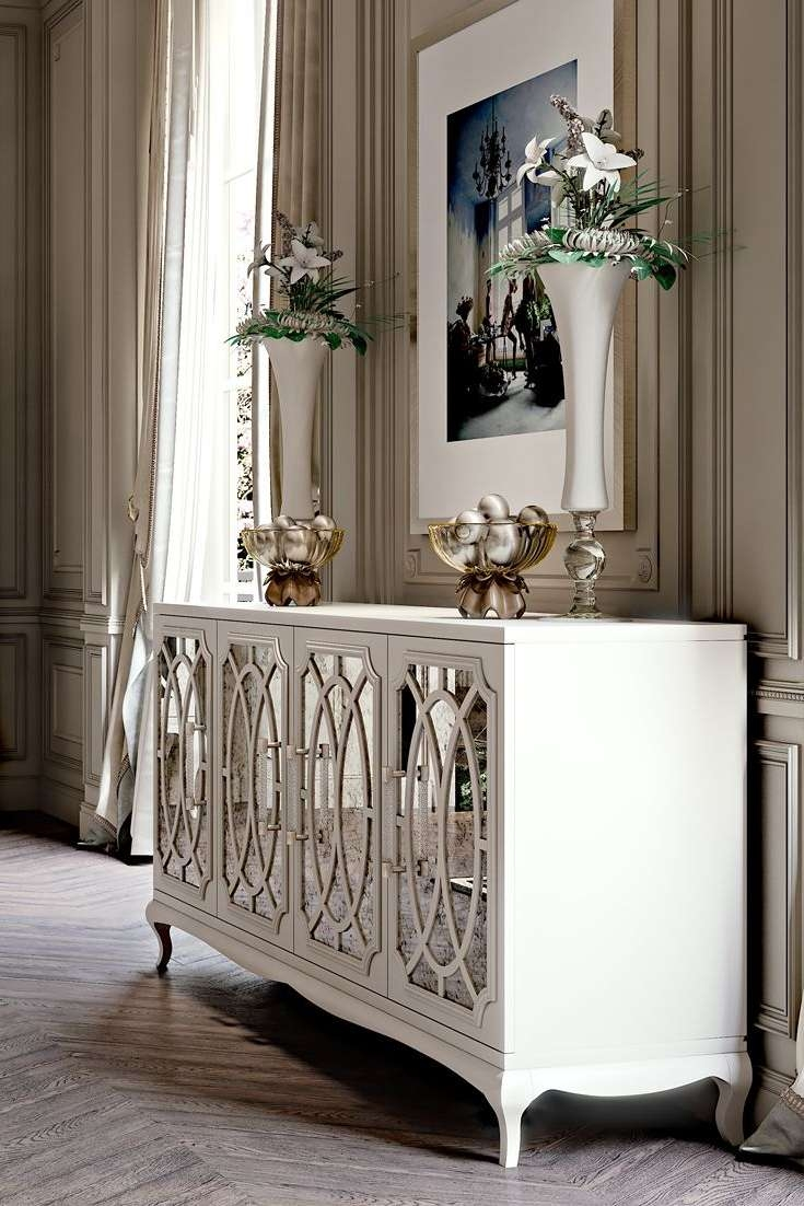 Mirror : Sassari Mirrored Sideboard | Venetian Glass Furniture For With Regard To Mirror Sideboards (View 10 of 20)