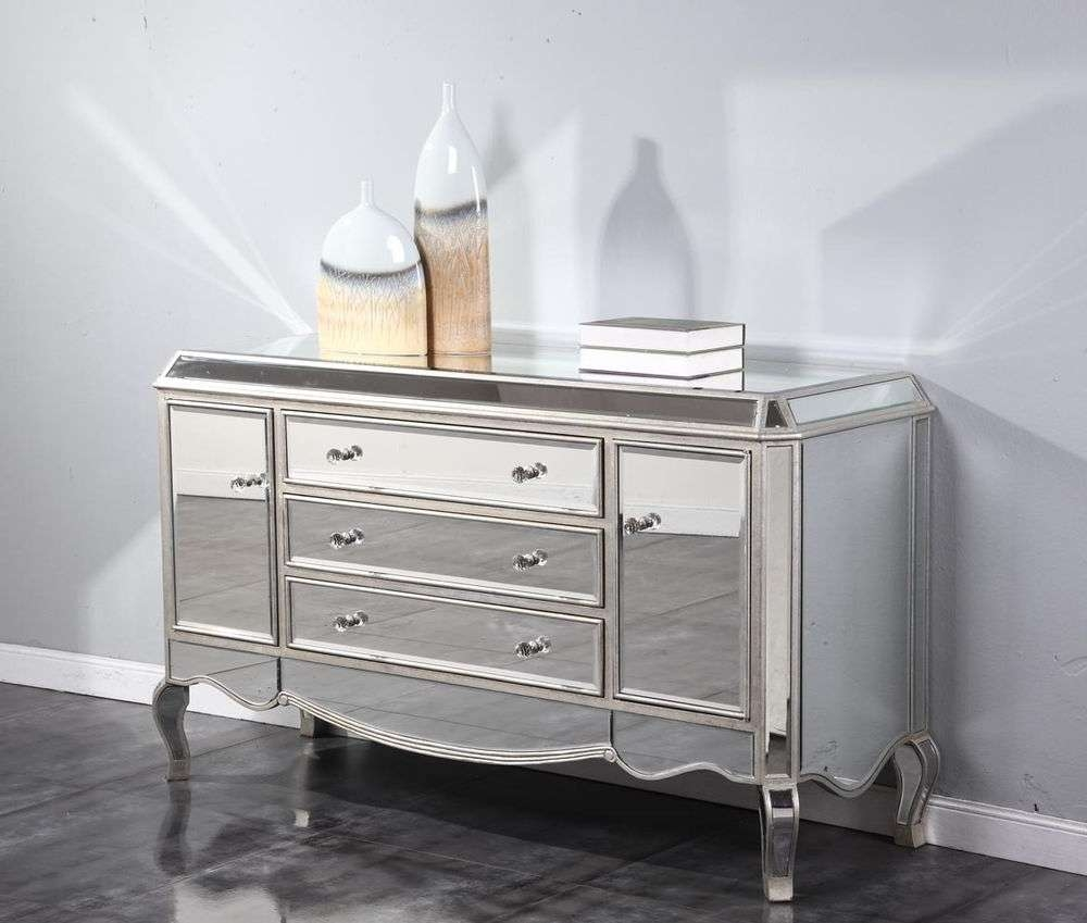 Mirrored Buffet Sideboard Plans With Mirrored Buffet Sideboards (View 11 of 20)