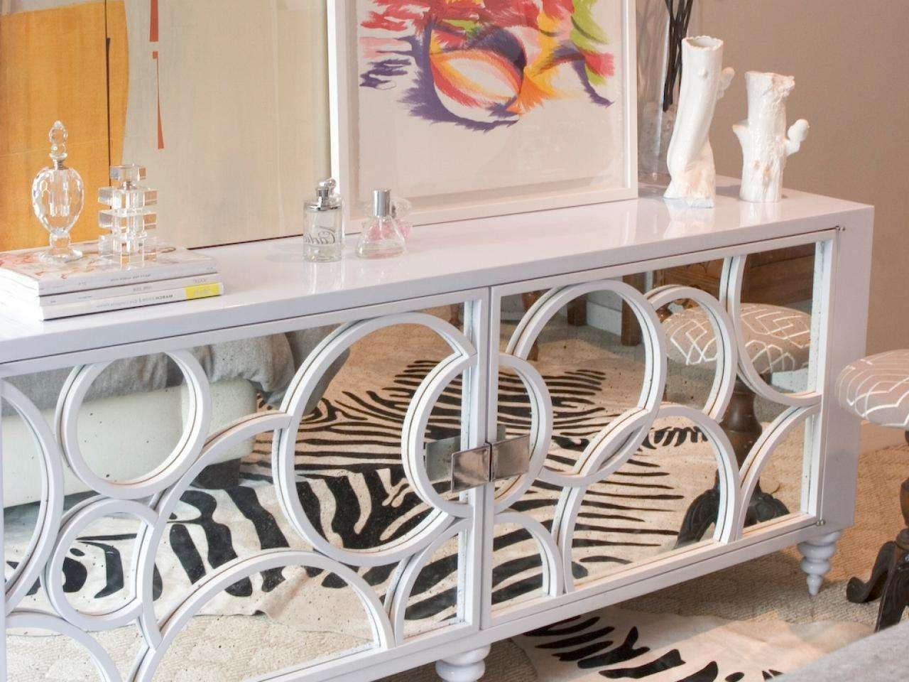 Mirrored Sideboard Home : Mirrored Sideboard: They Look So Intended For White Mirrored Sideboards (View 3 of 20)