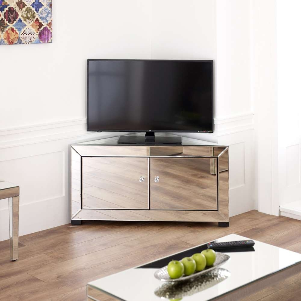 Mirrored Tv Stand (View 10 of 20)