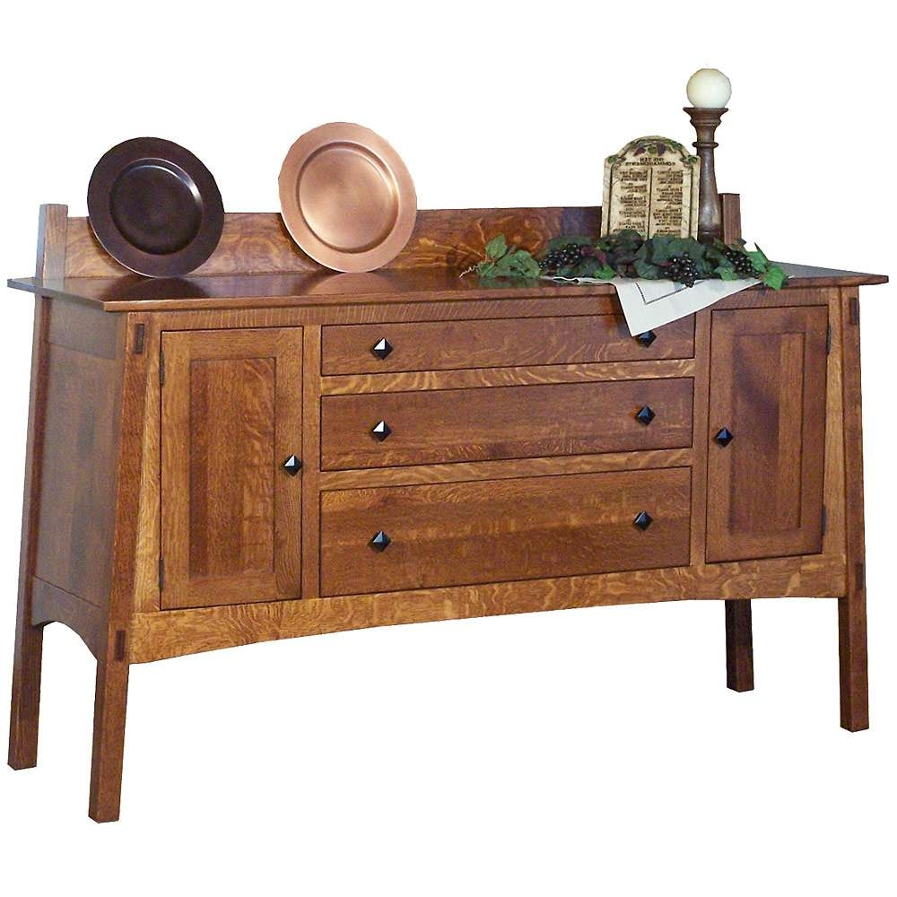 Mission Style Sideboards & Buffets – Mission Style Mccoy Sideboard Pertaining To Mission Style Sideboards (View 16 of 20)