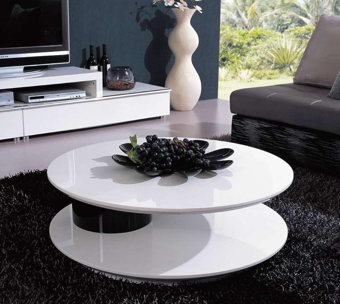 Modern Coffee Tables To Complete Your Living Room Furnishing Throughout Fashionable Big Black Coffee Tables (View 12 of 20)