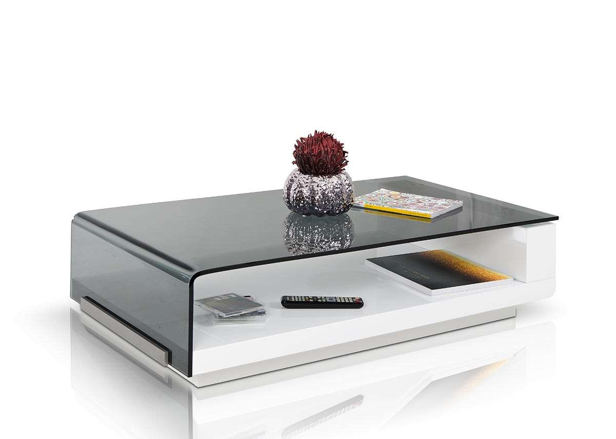 Modern Glass Coffee Table In Best And Newest Modern Glass Coffee Tables (View 6 of 20)
