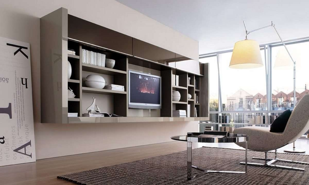 Modern Living Room Tv Furniture – Modern House Pertaining To Full Wall Tv Cabinets (View 10 of 20)