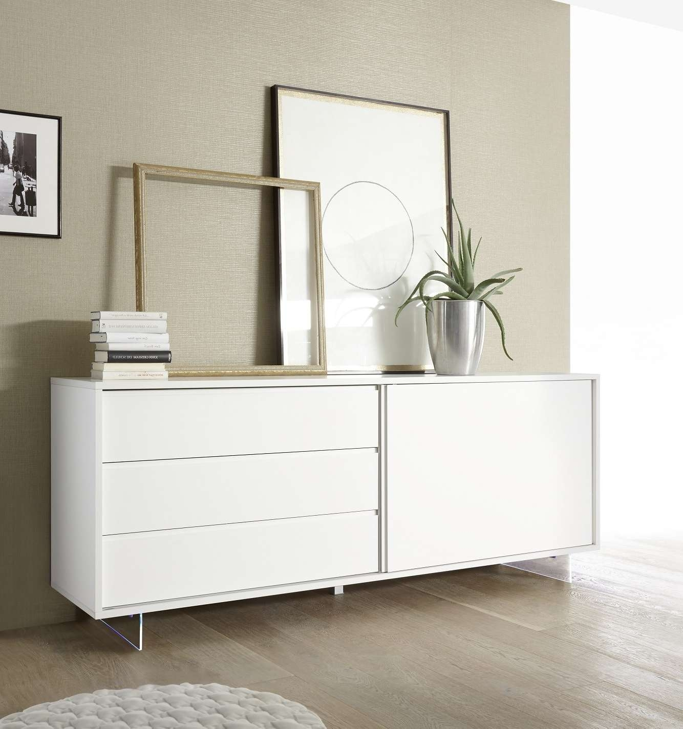 Modern Sideboards Uk – Sena Home Furniture Inside Sideboards With Lights (View 18 of 20)