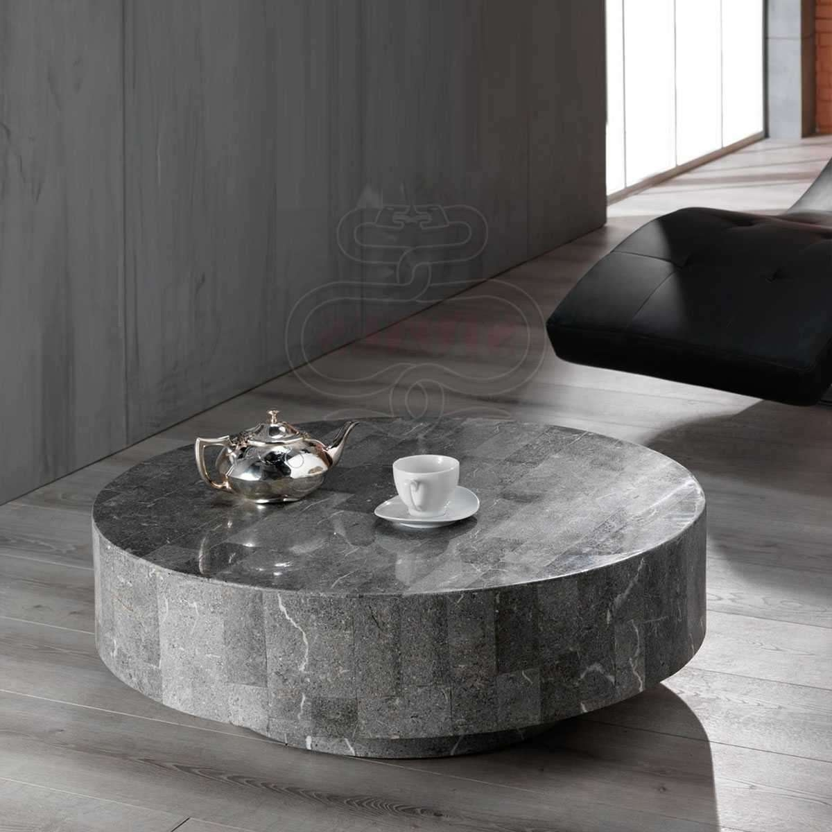 Modern Stone Coffee Table (View 14 of 20)