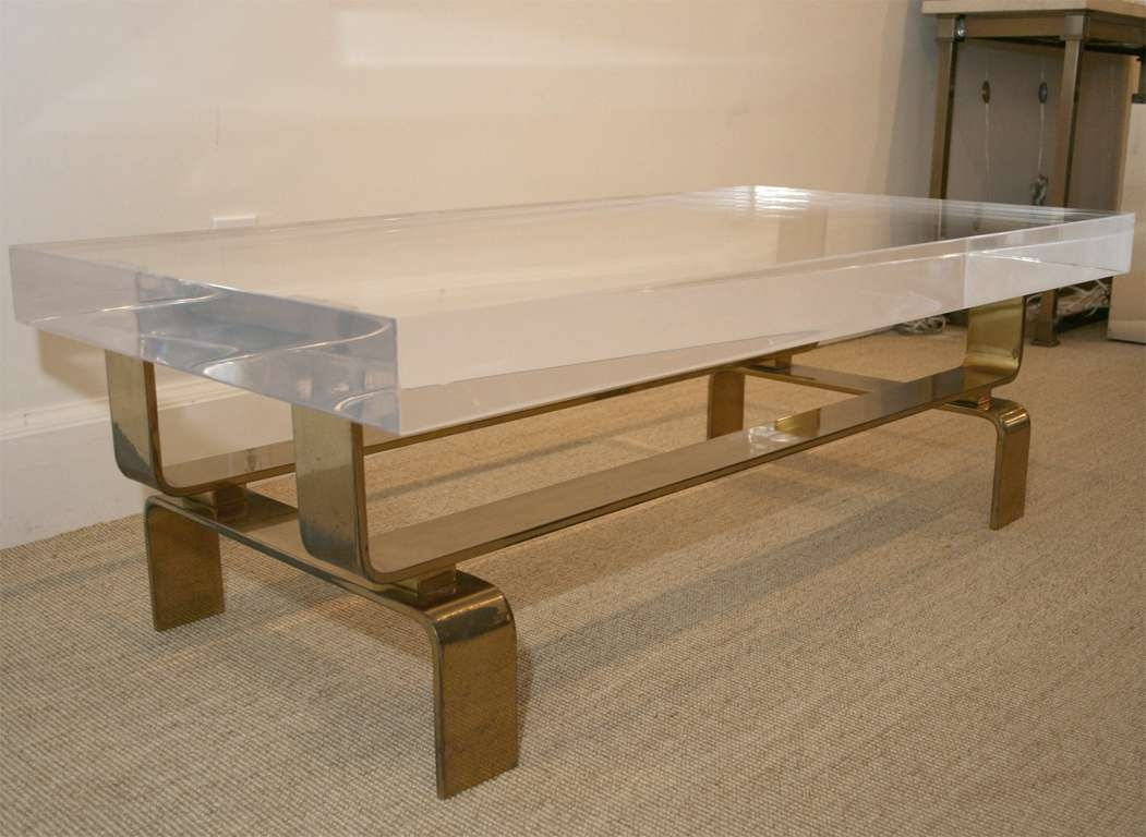 Modern Style House Regarding Widely Used Perspex Coffee Table (View 12 of 20)