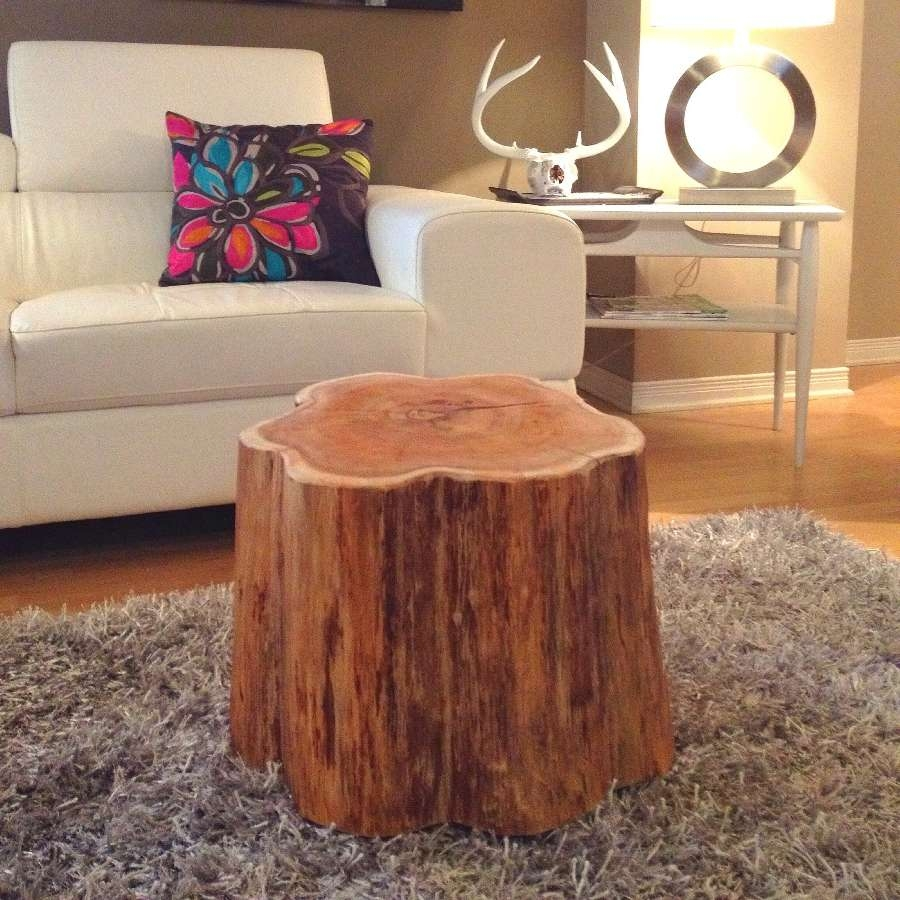 Modern Table Design For Latest Tree Trunk Coffee Table (View 10 of 20)