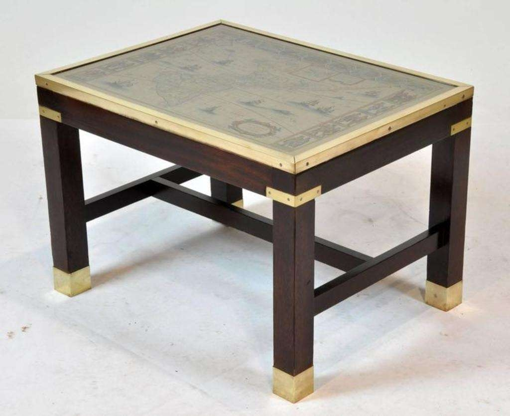 Modern Table Design Pertaining To Well Known Campaign Coffee Tables (View 13 of 20)