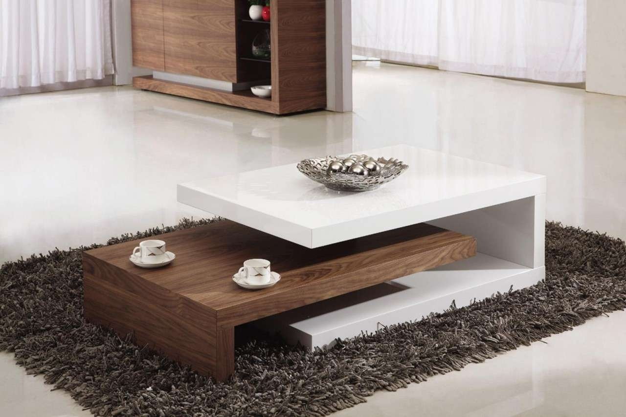 Modern Table For Living Room Cool Top Living Room Coffee Table On Inside Best And Newest Modern Coffee Tables (View 14 of 20)