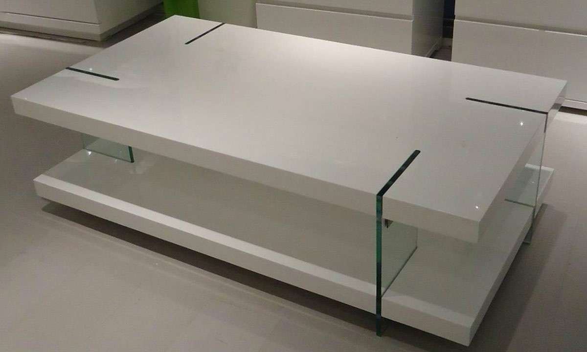 Modern White Lacquer Coffee Table — Home Design Ideas Inside Most Popular Lacquer Coffee Tables (View 9 of 20)