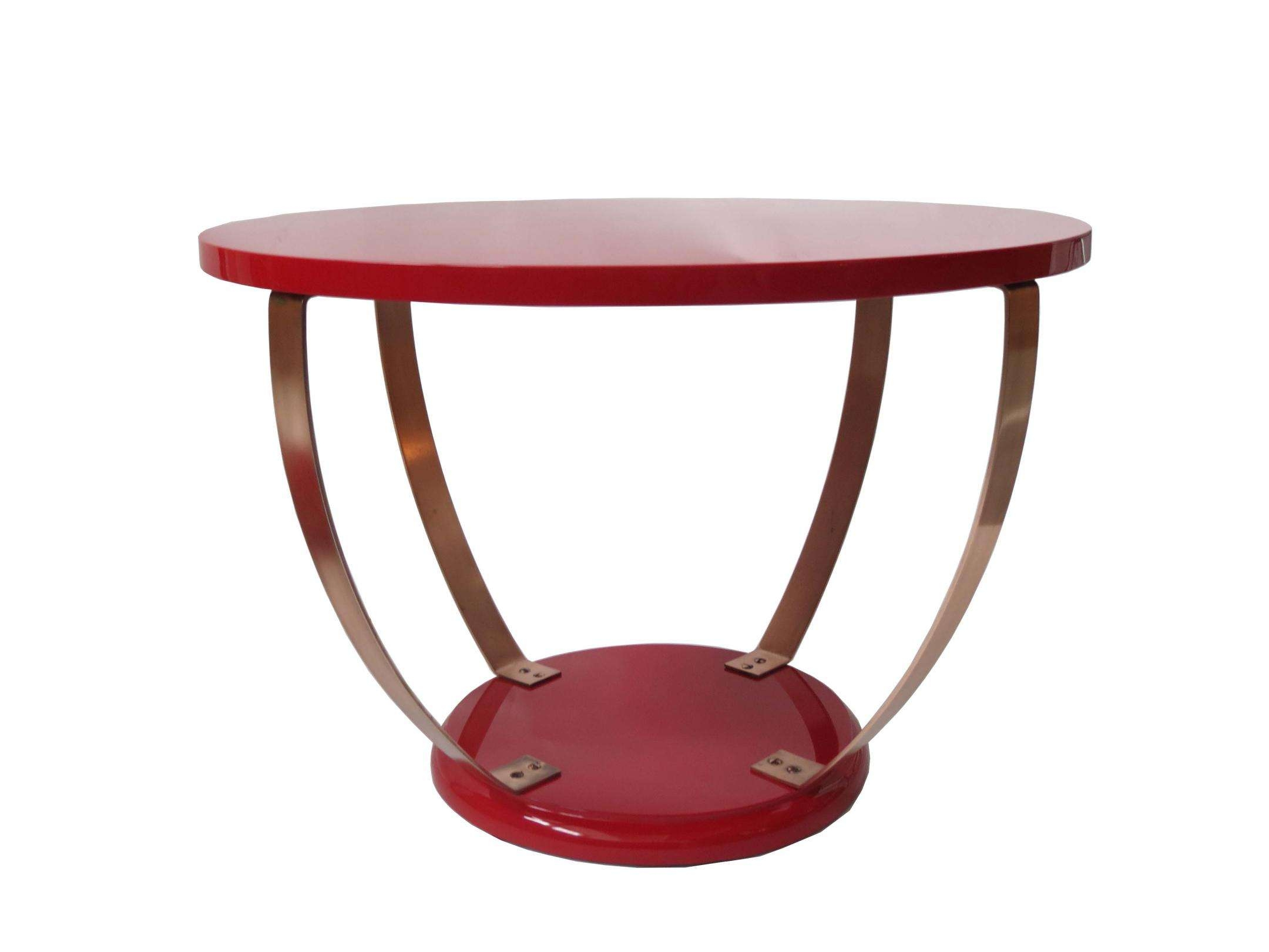 Modernism With Popular Red Gloss Coffee Tables (View 2 of 20)