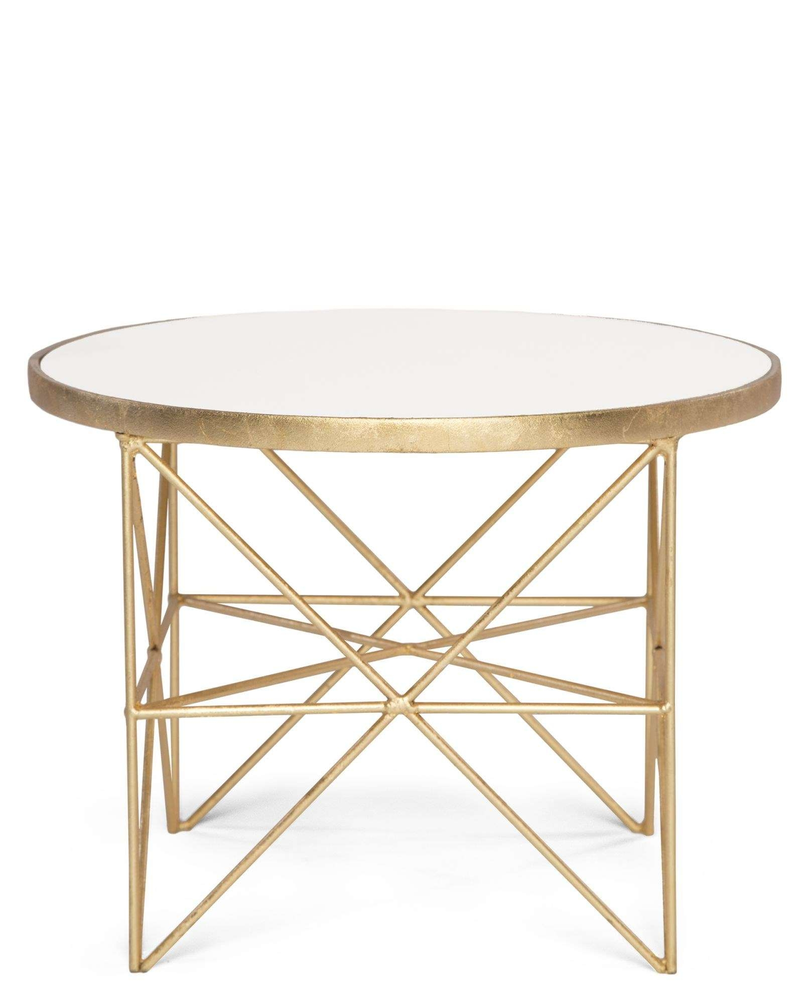 Monterey Short Side Table – Badgley Mischka Home Regarding 2017 Monterey Coffee Tables (View 8 of 20)
