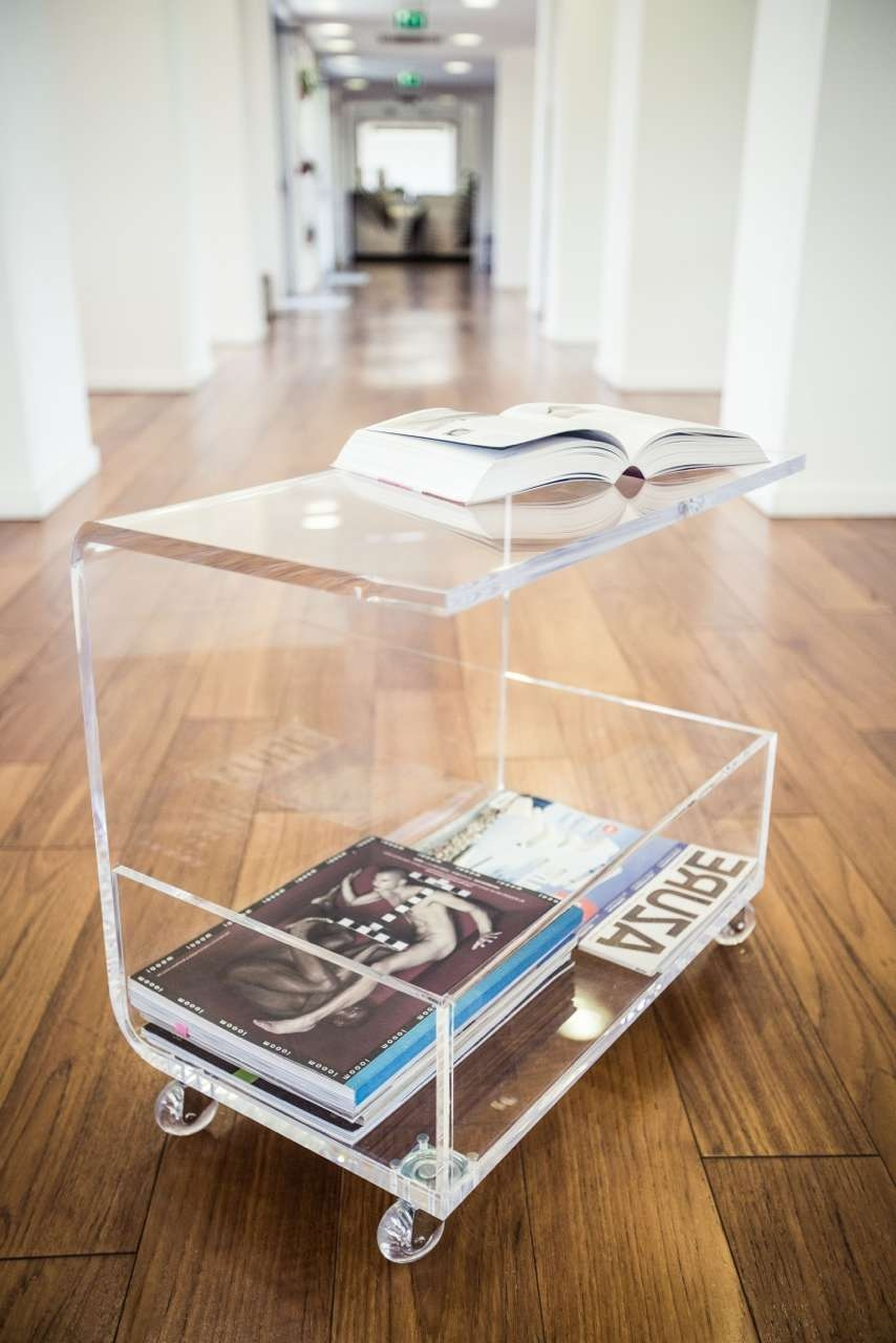 Most Current Acrylic Coffee Tables With Magazine Rack Inside Clear Acrylic Coffee Table – Writehookstudio (View 3 of 20)