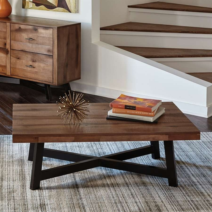 Most Current Asian Coffee Tables Within Shop Scott Living Naomi Ash Asian Hardwood Coffee Table At Lowes (View 20 of 20)