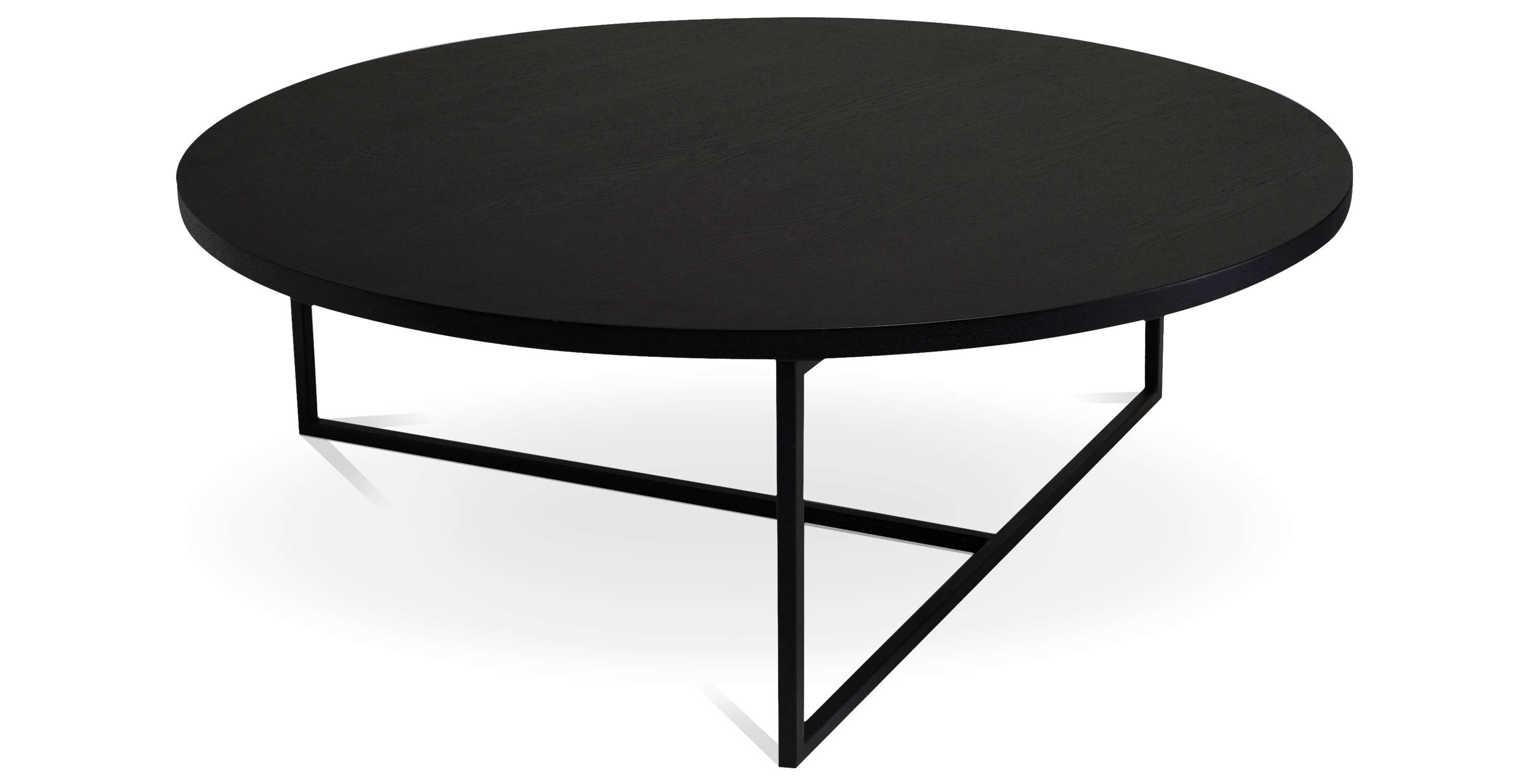 Most Current Black Circle Coffee Tables With Coffee Table : Awesome Circle Coffee Table Cherry Wood Coffee (View 3 of 20)