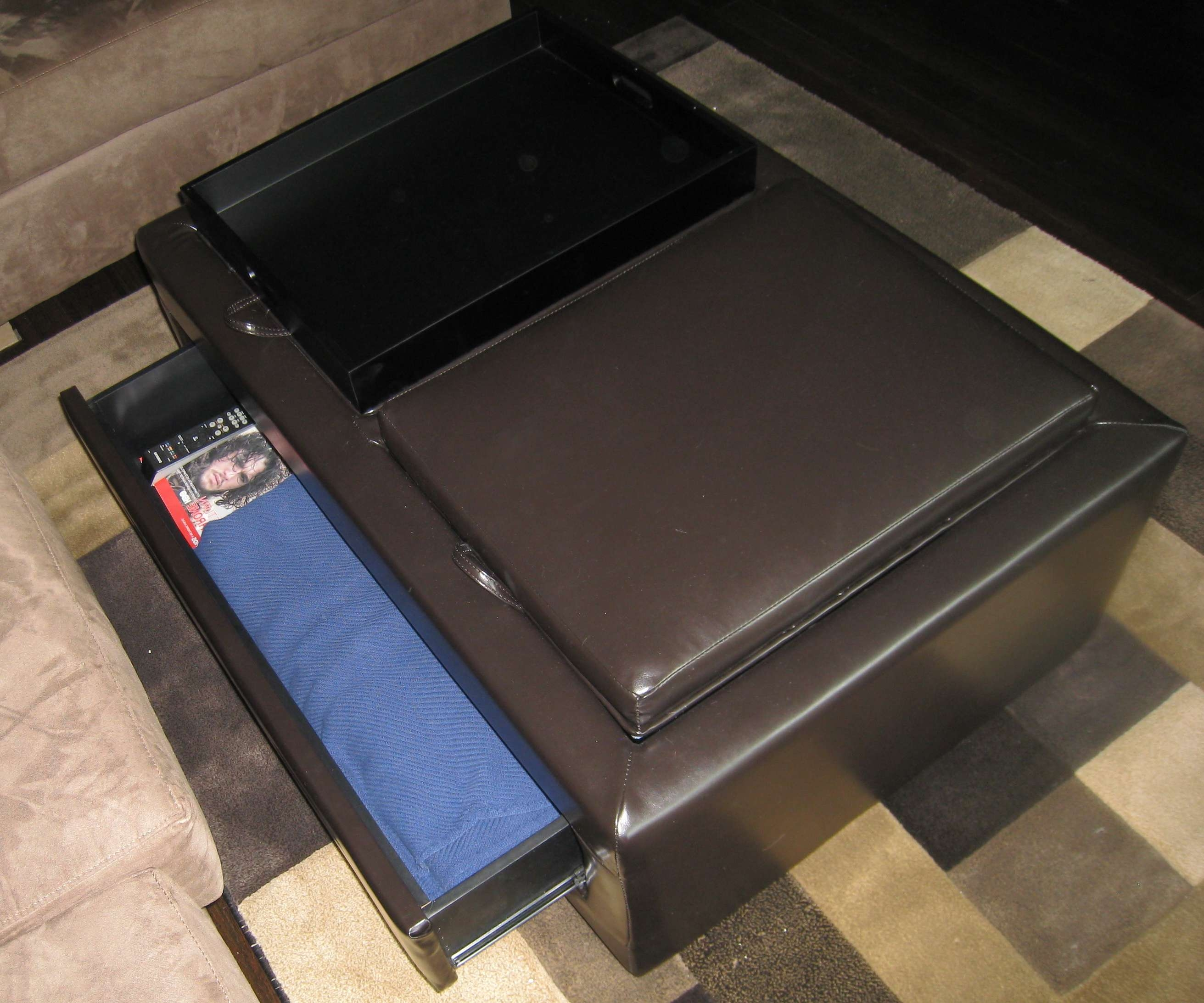 Most Current Coffee Table Footrests Regarding The Hunt: Furniture That Serves A Dual Purpose (View 15 of 20)