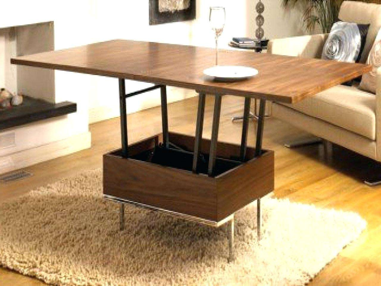 Most Current Coffee Table To Dining Table Inside Coffee Table : Coffee Table Cozytible To Dining Stupendous Photo (View 16 of 20)